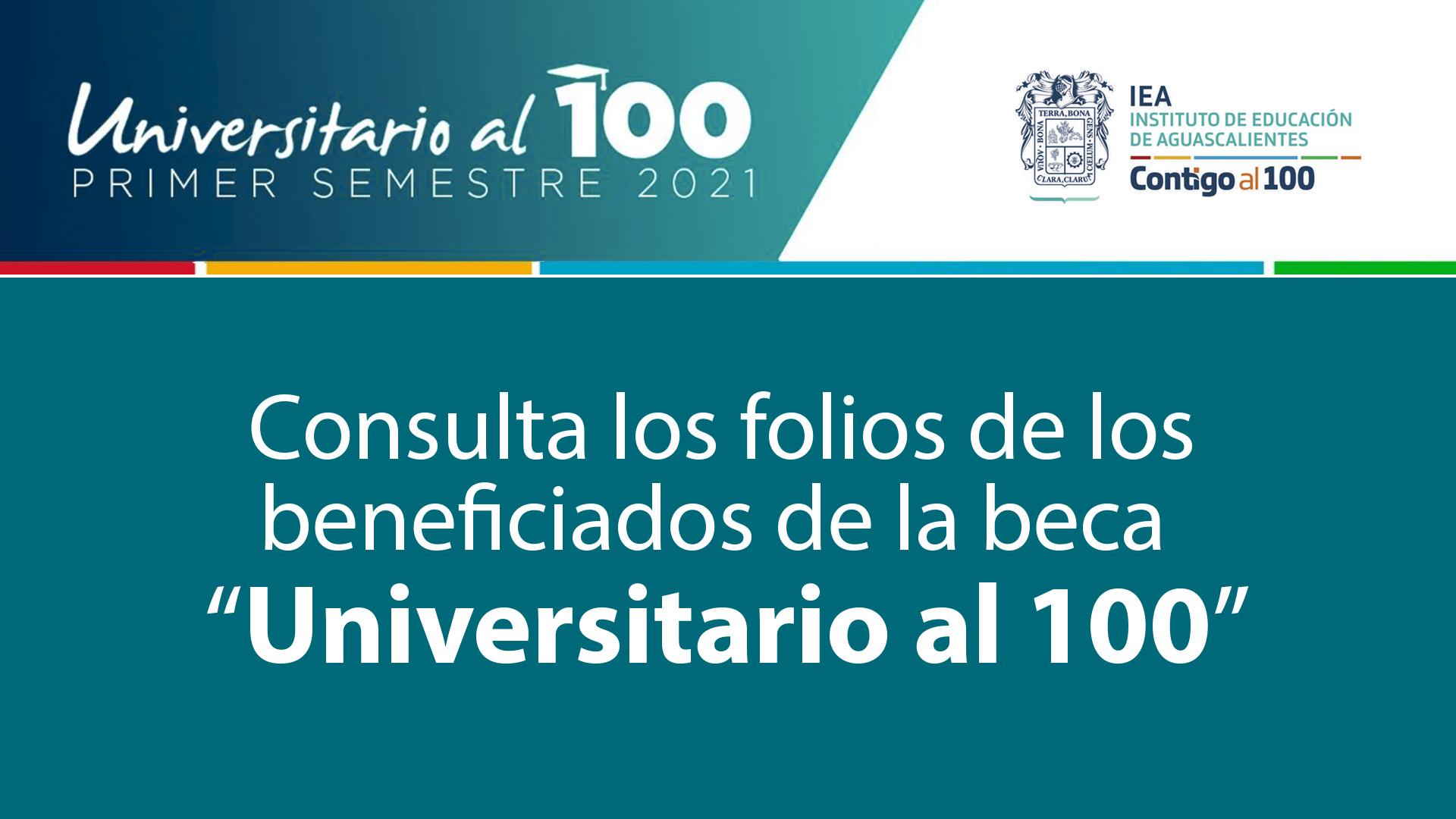 Beneficiados Universitario al 100