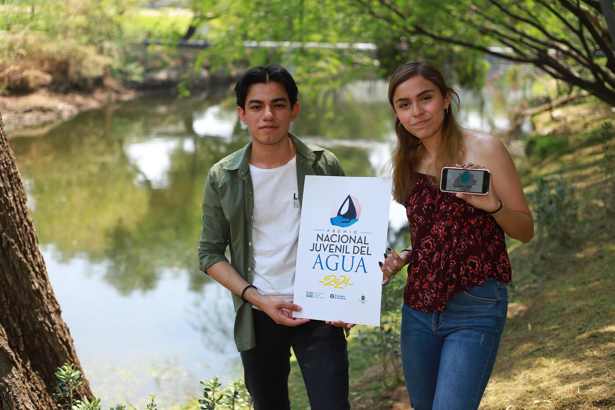 Estudiantes de Bachillerato de la UAA ganan segundo lugar en Premio Nacional del Agua 2021