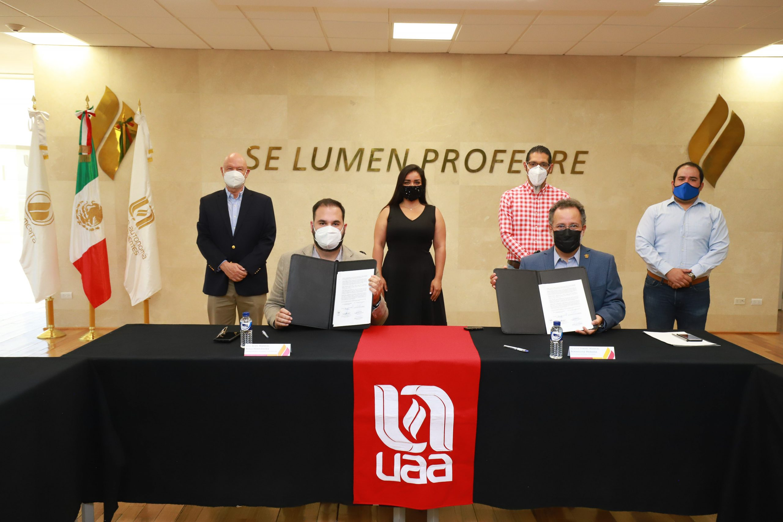 UAA FIRMA CONVENIO DE COLABORACIÓN CON COPARMEX AGUASCALIENTES