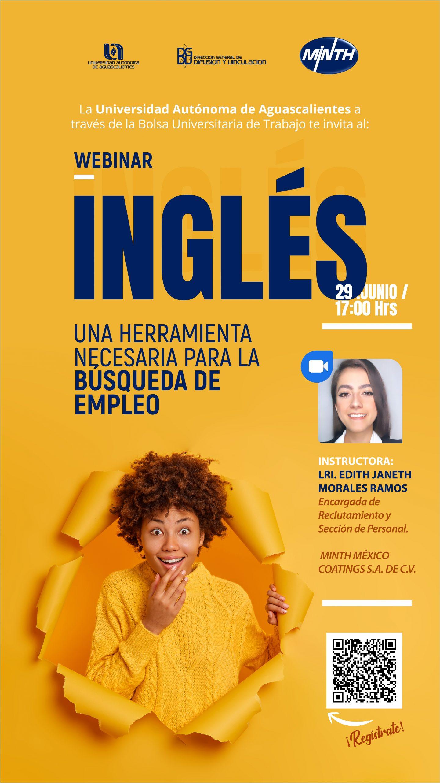 Webinar Inglés una herramienta necesaria para la Búsqueda de empleo