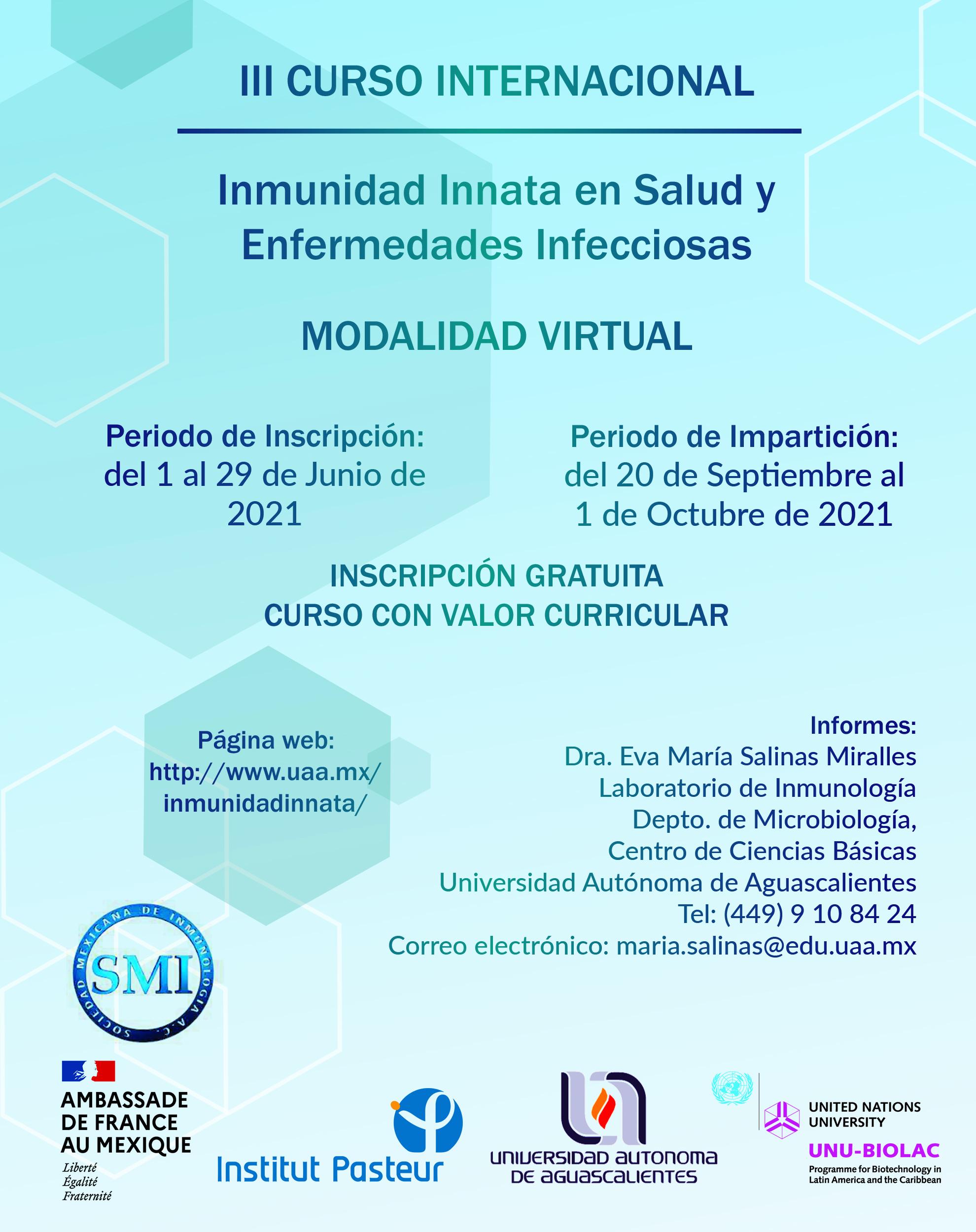 III Curso Internacional de Inmunidad Innata