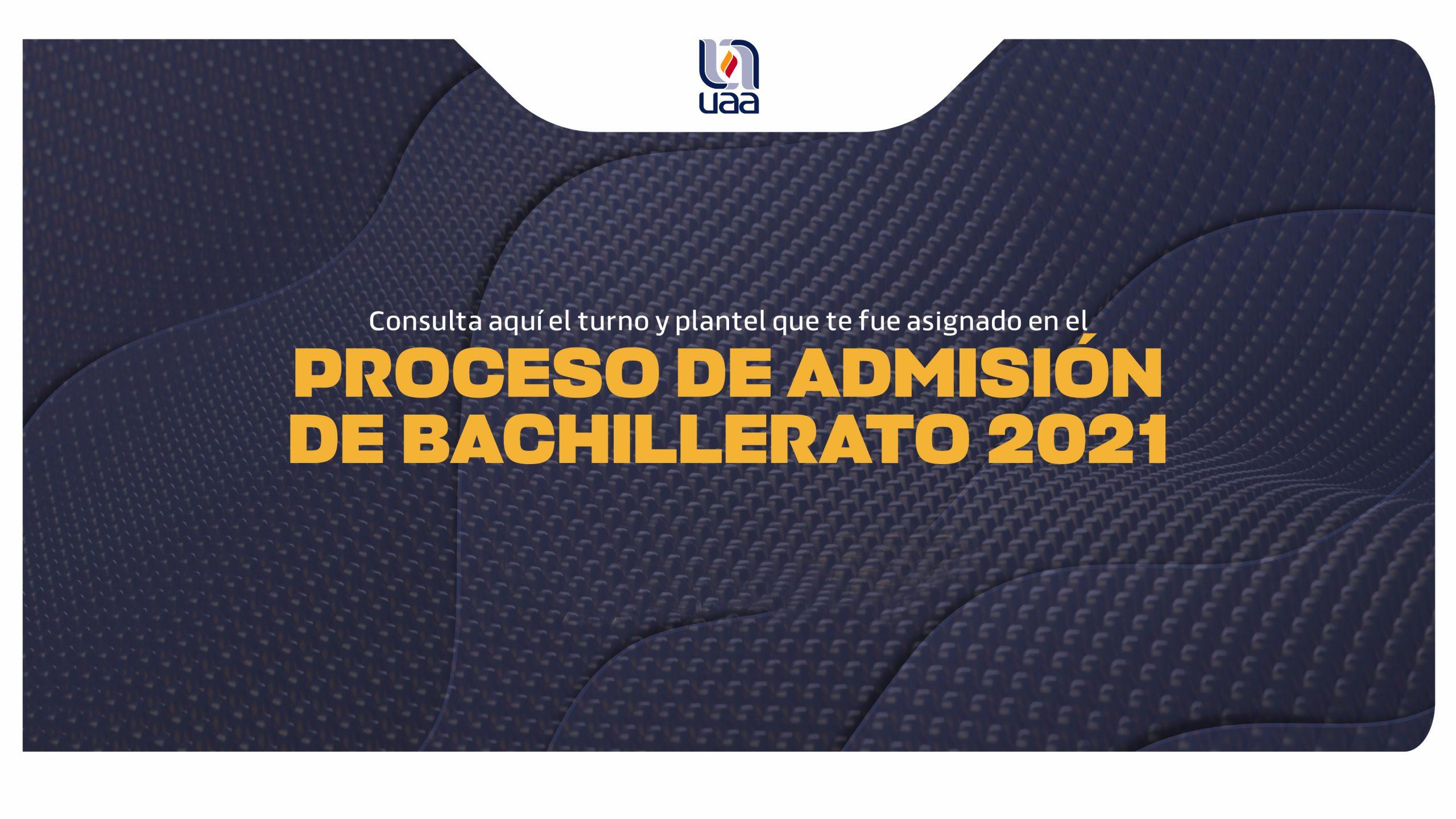 Proceso de Admisión Bachillerato 2021