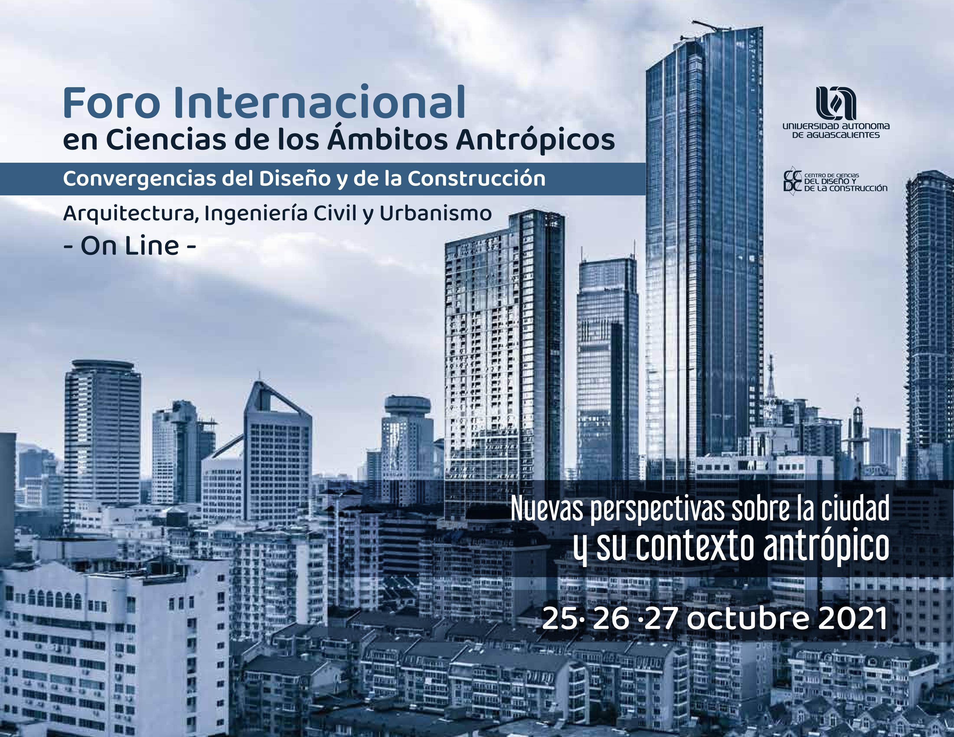 Foro Internacional en Ciencias de los Ámbitos Antrópicos