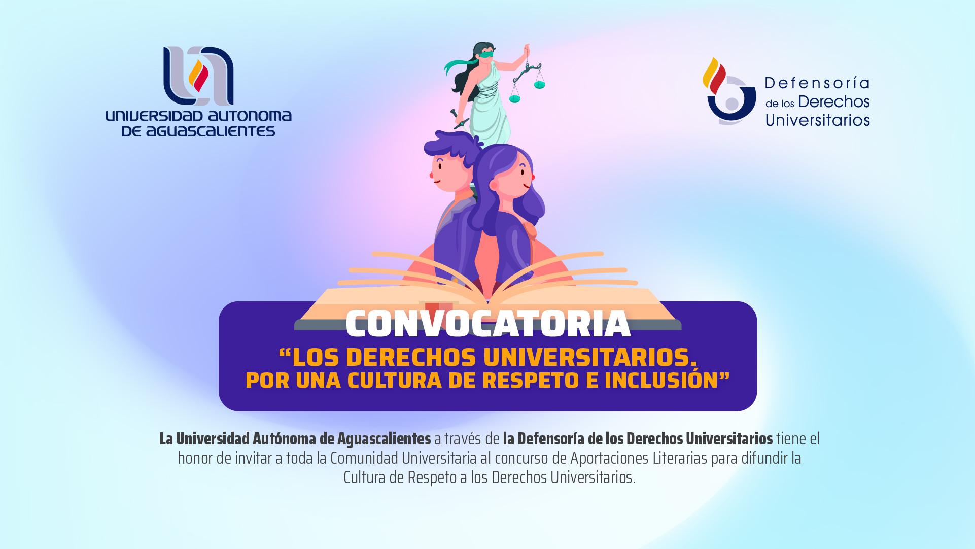 CONVOCATORIA DERECHOS UNIVERSITARIOS
