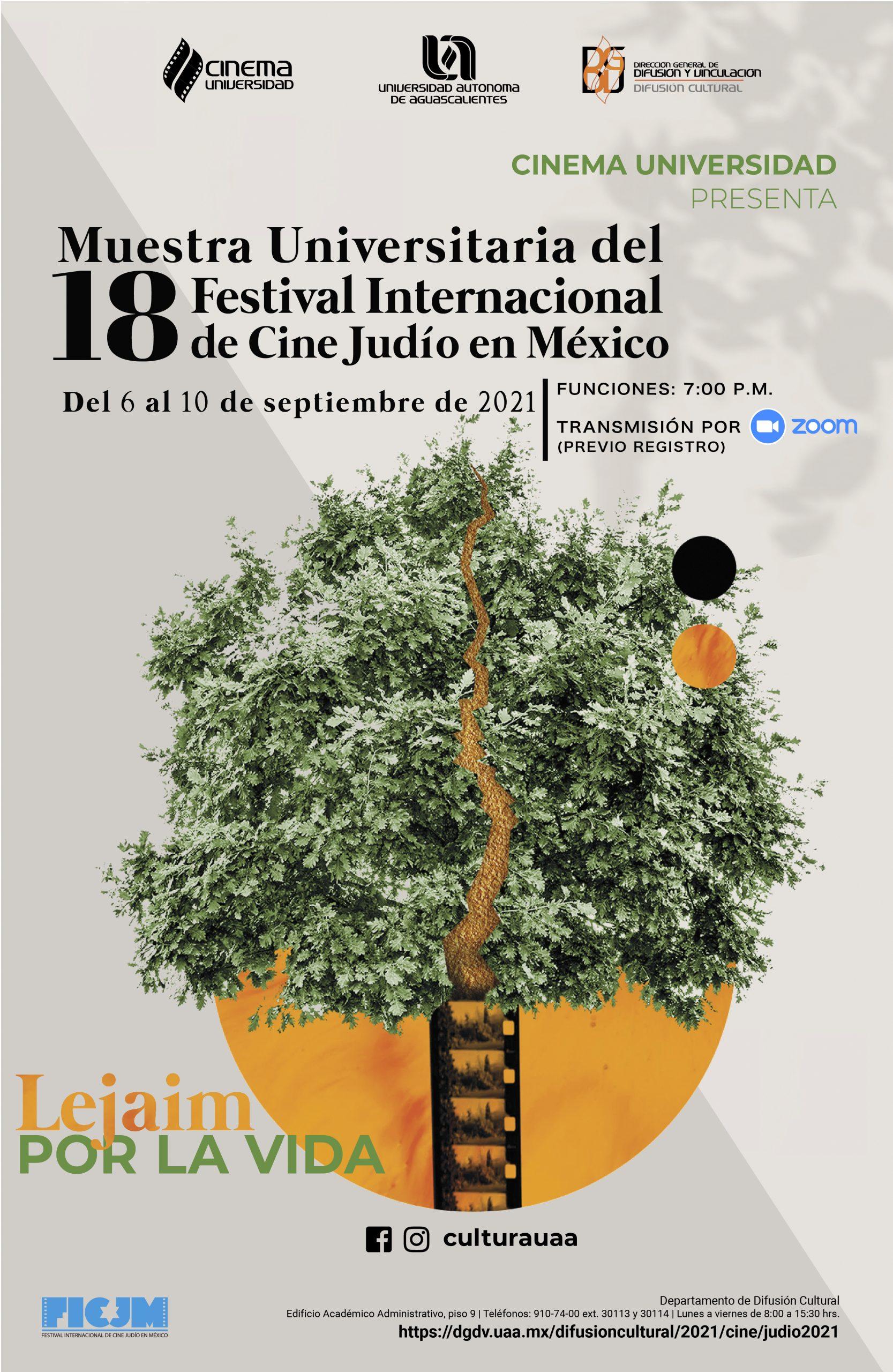 Muestra Universitaria del Festival Internacional de Cine Judío en México
