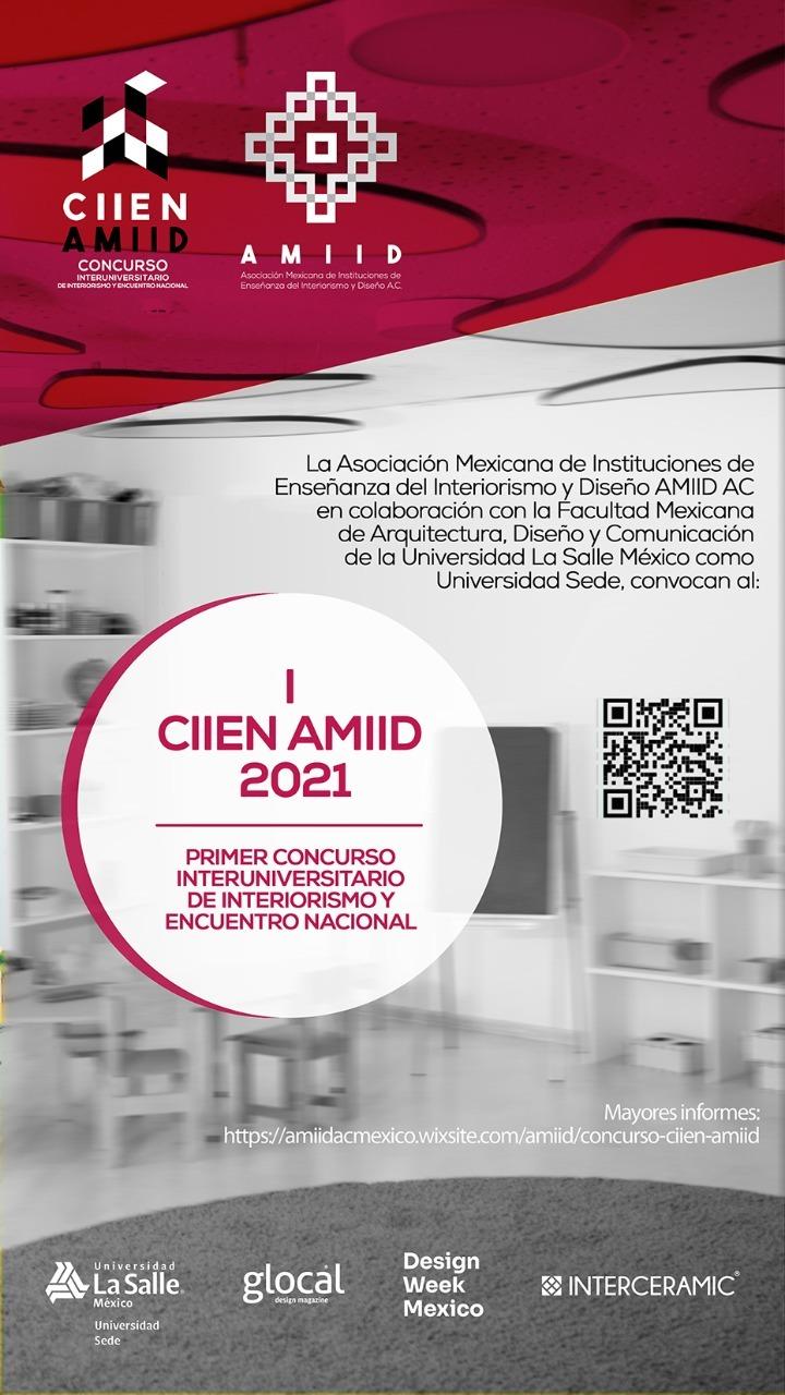 UAA invita al Primer Concurso Nacional de la Asociación Mexicana de Instituciones de Enseñanza de Interiorismo y Diseño A.C.