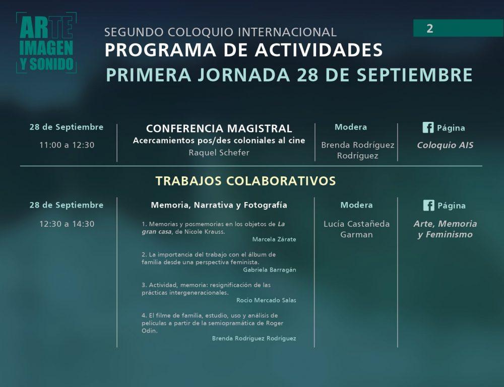 UAA invita a presenciar el segundo coloquio internacional de arte, imagen y sonido