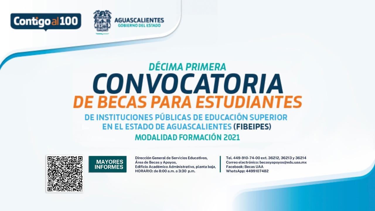 DECIMA PRIMERA CONVOCATORIA DE BECAS PARA ESTUDIANTES (FIBEIPES)