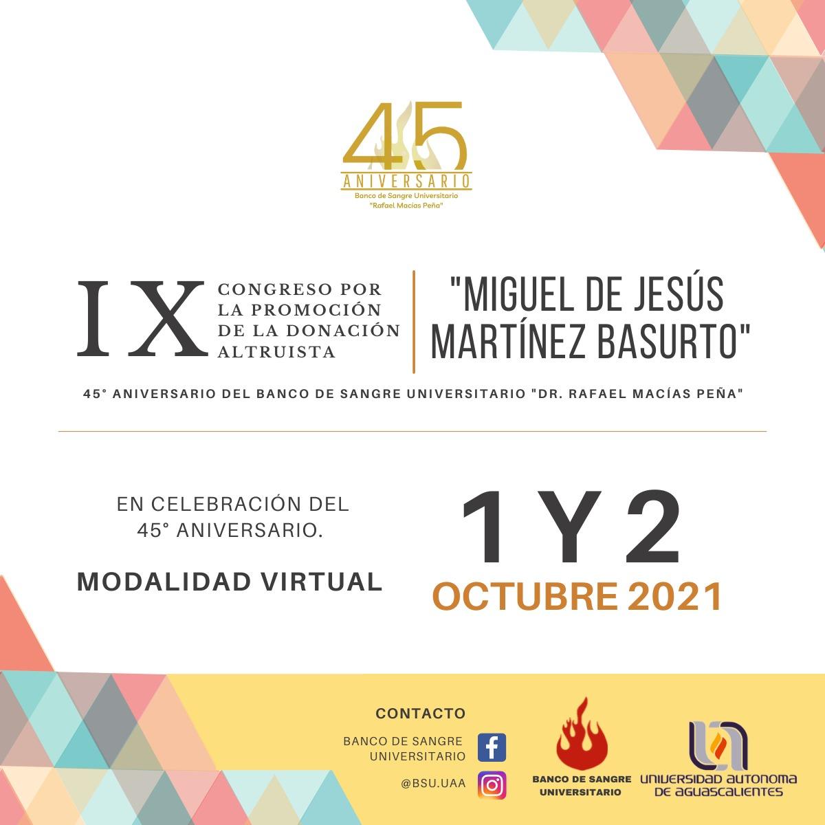 IX CONGRESO POR LA PROMOCIÓN DE LA DONACIÓN ALTRUISTA