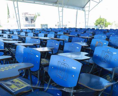 UAA brinda apoyo al sector educativo del estado con donación de bienes muebles