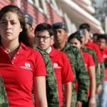 Magno Evento de Honores de la Bandera en la UAA