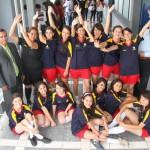 Equipos de Sockball y Fútbol Rápido Femenil del Bachillerato Universitario Destacan en Juegos Interprepas