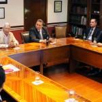 Reunión entre Rectoría y el Consejo Directivo de la Fundación de la Universidad Autónoma de Aguascalientes