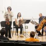 El Reconocido Cuarteto de Cuerdas José White Ofrece un Espacio para la Reflexión de la Música de Cámara