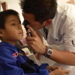 Realiza UAA Detección de Cataratas en Apoyo al Programa de Cirugía Extramuros del Seguro Popular