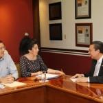 Agradece Catedrática de la Universidad de San Luis Argentina Posibilidades Vinculación y Trabajo Conjunto con UAA en Materia de Trabajo Social