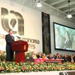 Presentó Mario Andrade Cervantes su Primer Informe de Actividades como Rector de la UAA