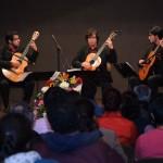 Exitosa Presentación del Terceto Cuicacalli Durante Concierto de Bievenida en la UAA