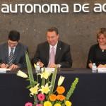 UAA Signa Convenio de Cooperación Académica con la Universidad de Jaén, España