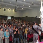 Abandera Rector Andrade Cervantes Selecciones de la UAA para Universiada Regional del CONDDE