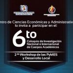 Doce Instituciones de Educación Superior del País Participarán en Coloquio de Investigación Nacional e Internacional de Cuerpos Académicos