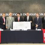 Santander Universidades Otorga Apoyo por 500 Mil Pesos para Construcción de Aula Tecnológica en el Campus Sur de la UAA
