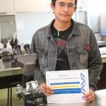 Alumno del Bachillerato de la UAA Participará en Olimpiada de la Ciencia a Nivel Internacional