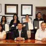 Seis Jóvenes Egresados De la UAA Recibieron el Premio CENEVAL al Desempeño de Excelencia EGEL, Creado por CENEVAL y SEP