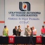 Centro de Ciencias del Diseño y de la Construcción de la UAA Reconoce Esfuerzo Académico de sus Alumnos
