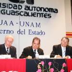 Se Fortalece Vinculación UAA- UNAM, con Firma de Convenio de Colaboración Institucional