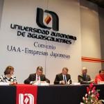 Alianza Estratégica entre la Universidad Autónoma de Aguascalientes y el Grupo de Empresas Japonesas.