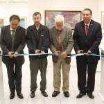 Se Inaugura en la Galería Universitaria la Exposición del Artista Plástico Roger Von Gunten.
