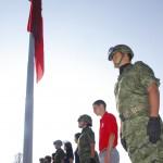 Reanuda UAA sus Jornadas Cívicas con la Ceremonia de Honores a la Bandera.