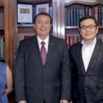 Catedráticos de la Universidad de Chiba, Japón, Externan al Rector de la UAA Interés por Estrechar Lazos de Colaboración