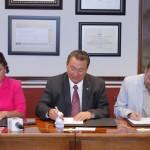 Signan Convenio de Colaboración la UAA y la Casa de la Cultura Jurídica en Aguascalientes