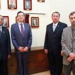 Develan Foto de Eusebio Sánchez en Sala de Junta De Gobierno de la UAA, Tras Dejar la Presidencia de este Organismo