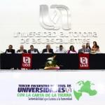 Universidad Autónoma de Aguascalientes y la Universidad de Guanajuato Firman el Refrendo de Carta de la Tierra en Evento Nacional