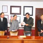 Rinde Protesta José de Jesús Ruíz Gallegos Como Decano Sustituto del Centro de Ciencias Básicas de la UAA