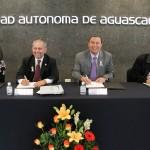 Firman Convenio UAA y Sedec para Fortalecer la Vinculación y Apoyar Proyectos Productivos de Estudiantes Emprendedores