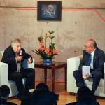 En la UAA Manuel Felguérez Manifestó la Responsabilidad de las Instituciones Frente al Arte