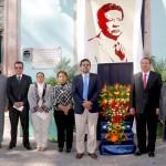 Reconoce rector de la UAA la labor del  profesor J. Refugio Miranda Aguayo.
