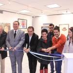 Inaugura el rector de la UAA exposición del 2o. Concurso de Artes Plásticas y Gráficas Dr. Alfonso Pérez Romo
