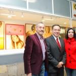 Inaguran exposición plástica en la galeria 9.2m del Centro de Educación Media