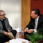 Se reúne rector de la UAA con secretario general de la Región Centro Occidente de ANUIES
