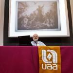 Imparten en la UAA conferencia sobre los Jardines de Maximiliano