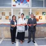 UAA Celebra Día mundial del arte en CEM central con exposición de pintura de artístas plásticos nacionales