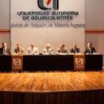 Se presenta libro sobre juicio de amparo en materia agraria en la UAA