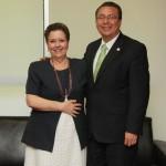 Se reúne el rector de la UAA con integrante de la Junta de Gobierno del INEE