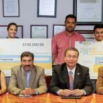 Ejemplos de creatividad esfuerzo y dedicación estudiantes de la UAA ganadores del Certamen Nacional Emprendedores