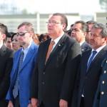 UAA realiza honores a los símbolos patrios con motivo de las efemérides de mayo